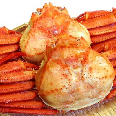 ゆで紅ズワイガニ(冷凍)