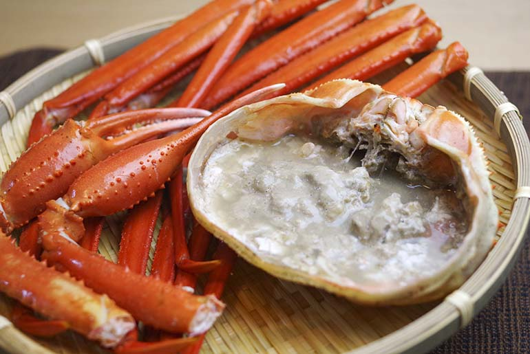 ゆで紅ズワイガニ(冷凍) – 日本海鮮魚センター