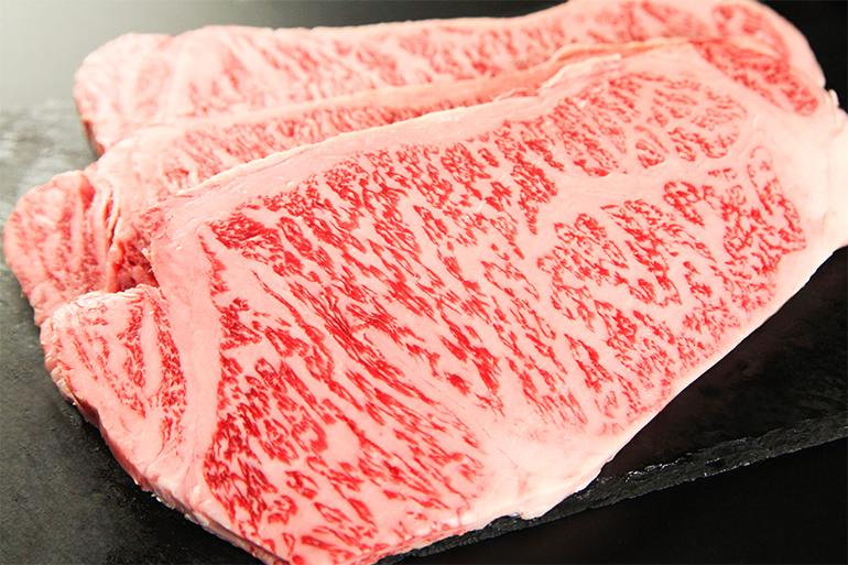 1.ステーキ用サーロイン
