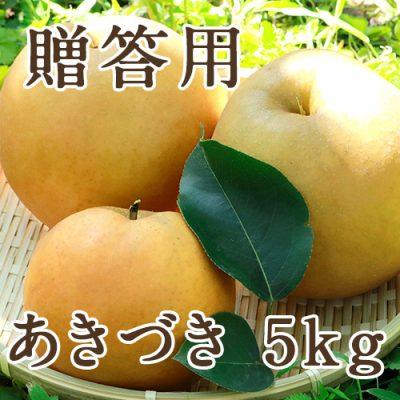 【贈答用】あきづき 5kg(9〜16玉)
