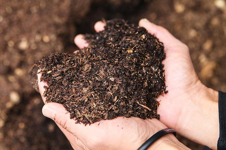 1.微生物の働きを最大限に活かした環境循環型の土づくり