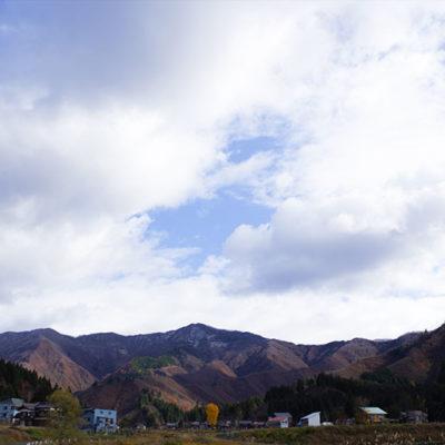 山の気候と豊富な水がお米を美味しくする