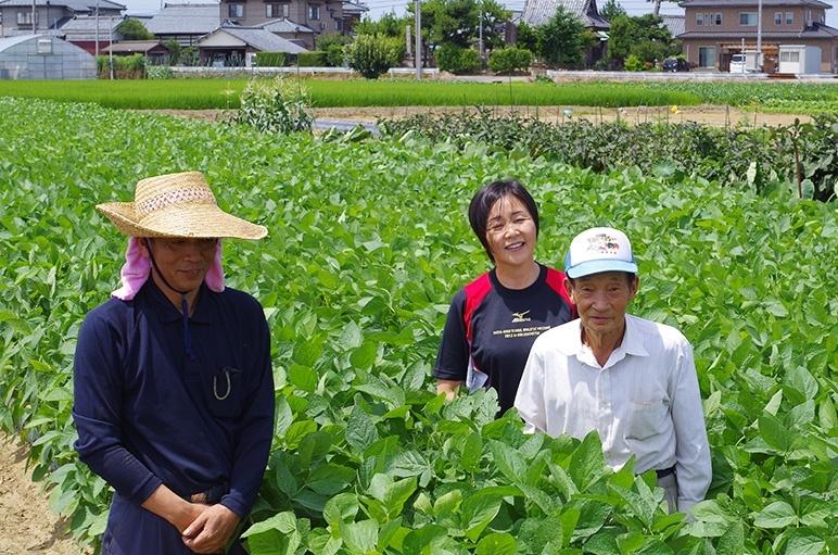 黒埼茶豆において最も古い歴史を持つ「野崎農園」