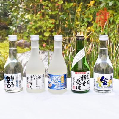 越後 お福正宗 オリジナル酒飲み比べセット 300ml×5本
