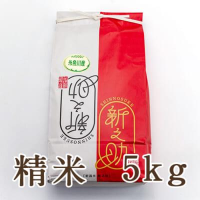糸魚川産新之助 精米5kg