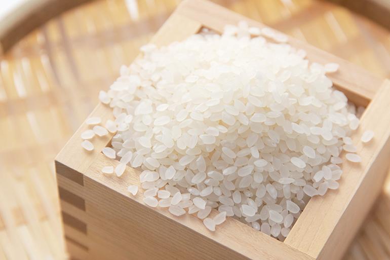 濃厚スープをたっぷり吸いこむ大粒米「新之助」