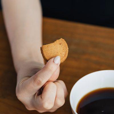 とろける口溶けのクッキー