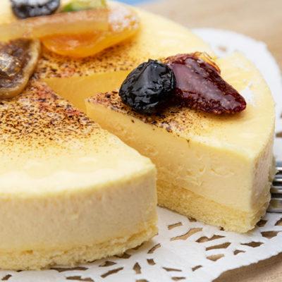 口溶けの滑らかさを追求した絶品チーズケーキ