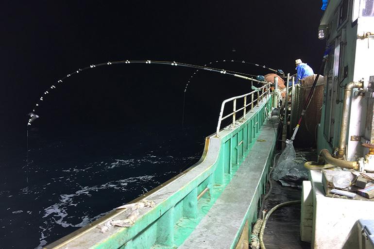 まさに男の漁!こだわりの一本釣り!