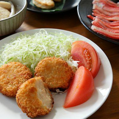 日本海産の紅ズワイガニを贅沢に使用!