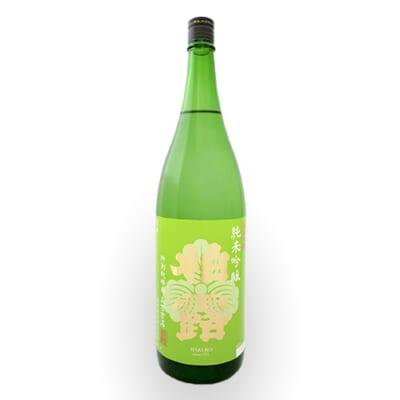 柏露 純米吟醸 特別栽培米五百万石 1.8l(1升)