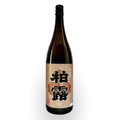 柏露 純米酒 1.8l(1升)