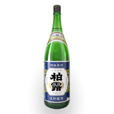 柏露 本醸造生貯蔵酒 1.8l(1升)