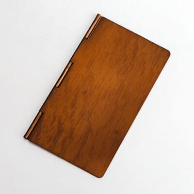 手帳型銅製マスクケース ブロンズ
