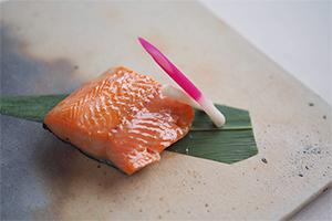 3.鮭の焼漬け