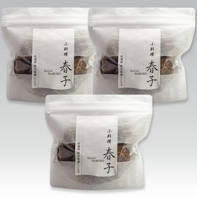 佐渡産 原木乾燥しいたけ 3袋