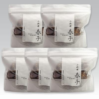 佐渡産 原木乾燥しいたけ 5袋