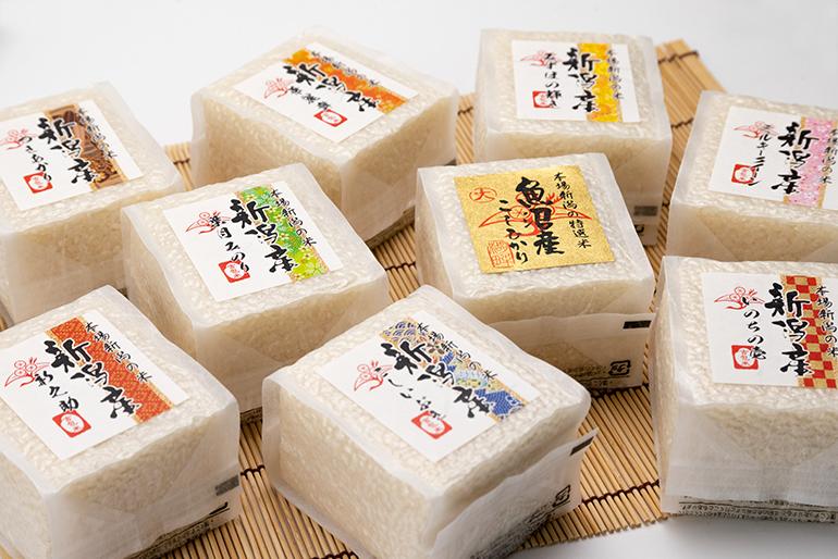 米のエキスパートが提供するお米ギフト