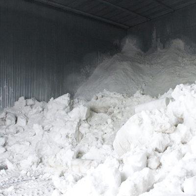 お米をまろやかに熟成させる「雪室」