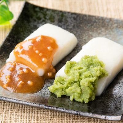 自家栽培米から作った風味豊かな「つきもち」