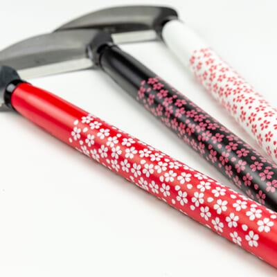 紅桜・夜桜・雪桜の3色から選べます