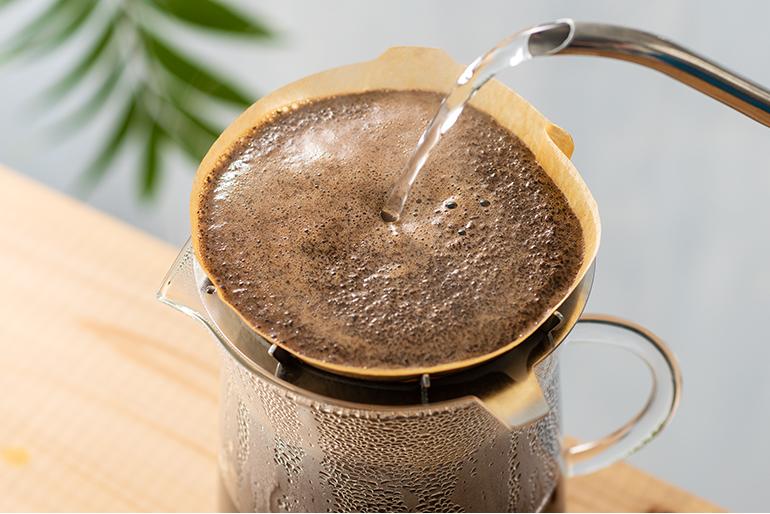 コーヒーを丁寧においしく淹れるバートドリッパー