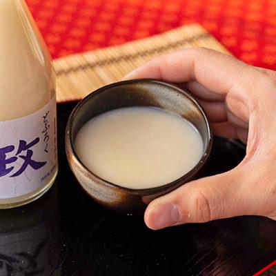 自然栽培米のどぶろく