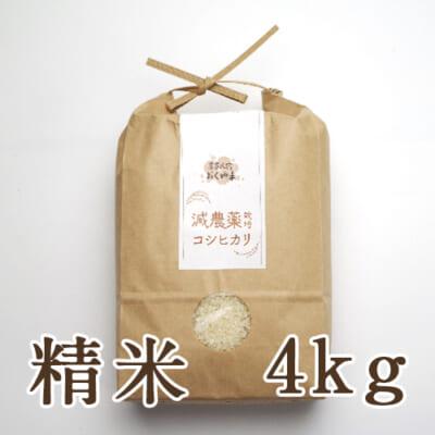 岩船産コシヒカリ 精米4kg