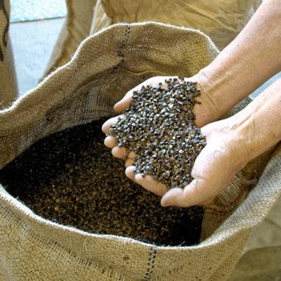 へぎそばらしさを追求する蕎麦粉の配合
