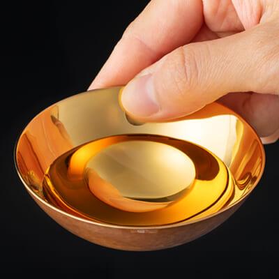 鎚器銅器玉盃