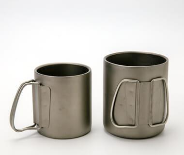 チタンマグカップ