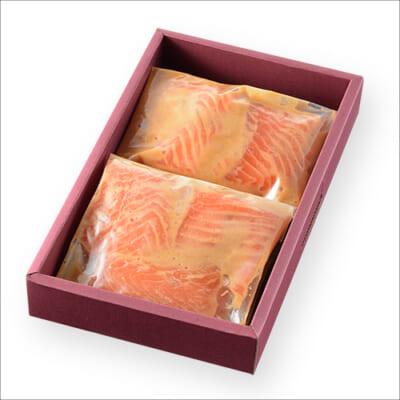 美味極上 料亭の味 鮭の越後味噌漬け 6切れ入り