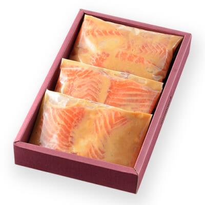 美味極上 料亭の味 鮭の越後味噌漬け 9切れ入り