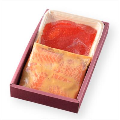 美味極上 料亭の味 鮭の越後味噌漬け親子漬けセット