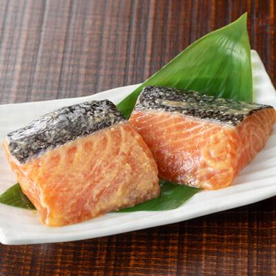 麹たっぷりの越後味噌で引き立つ「鮭の旨味」