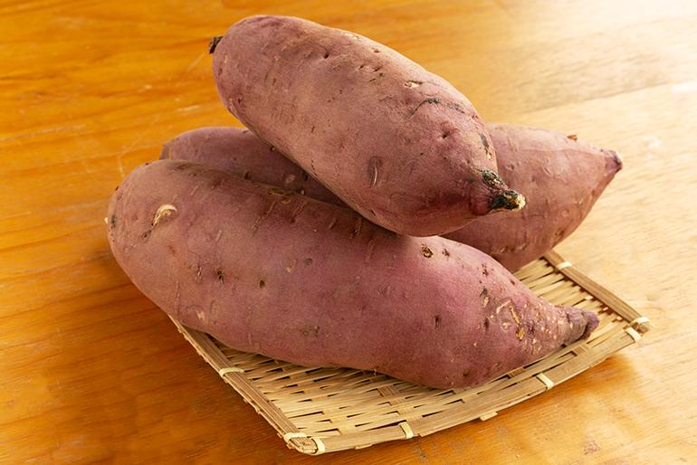 自然な甘みともちもち食感が美味しい「干し芋」