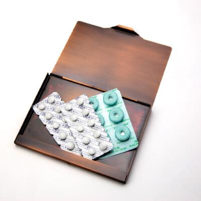 常備薬や救急セットの保存にも使用できます