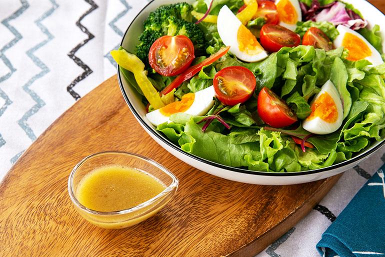 野菜の美味しさを引き立てる!冷製パスタにも最適なドレッシング