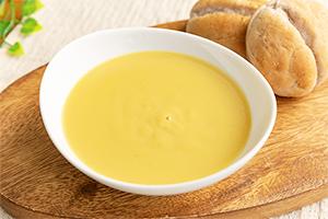 2.スイートコーンとコシヒカリのミックススープ