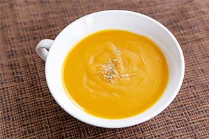 1.七彩の野菜とコシヒカリのミックススープ