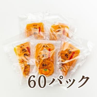 佐渡産 あんぽスライス柿 60パック入り