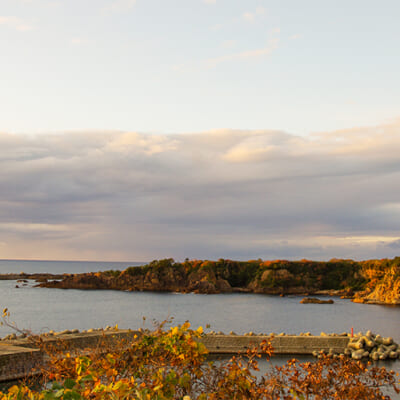 海に囲まれた島ならではの地形