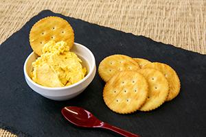 3.【夜のデザート】みかんクリームチーズ