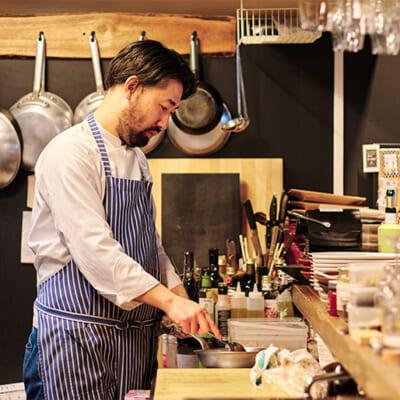 トスカーナ州で修行したシェフが本場の郷土料理を提供
