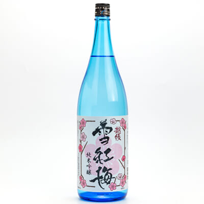 越後雪紅梅 純米吟醸 1.8l(1升)