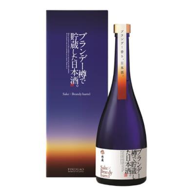 ブランデー樽で貯蔵した日本酒 750ml
