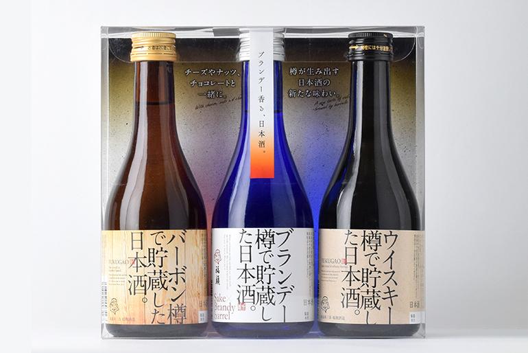 洋酒樽で貯蔵した日本酒 FUKUGAO