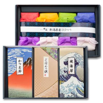 新潟県産コシヒカリの贅沢リッチギフト Aセット