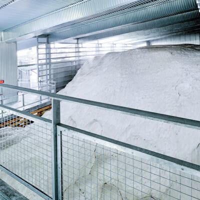 天然の冷蔵庫「雪室」