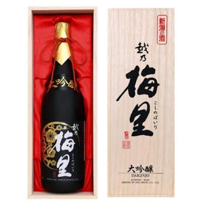越乃梅里 大吟醸原酒 越淡麗磨き35% 1.8l(1升)